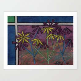 Kokum Flowers #17 Art Print