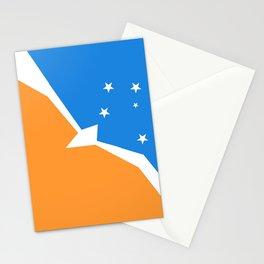 Flag of Tierra del Fuego Stationery Cards