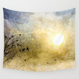 New Day Yesterday Wall Tapestry