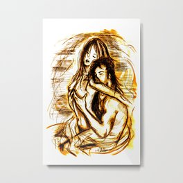 nude - passion Metal Print