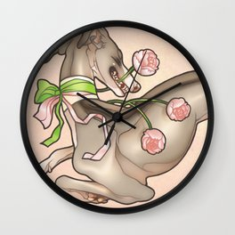 Smitten With You Wall Clock