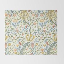 William Morris Flora Throw Blanket