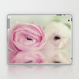 Ranunculus mirrored Laptop & iPad Skin