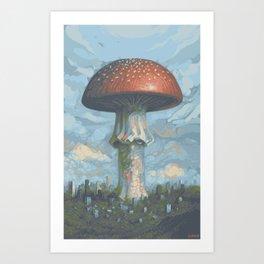 Nature FTW Art Print