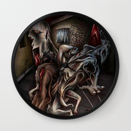 """Bugs In Window"" Wall Clock"