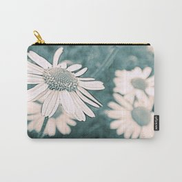 Vintage Daisies Carry-All Pouch