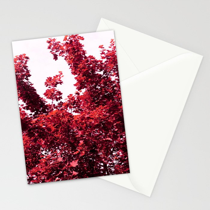 Berlin Pink Tree Stationery Cards