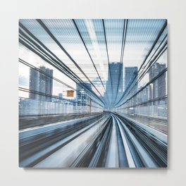 tunnel speed Metal Print