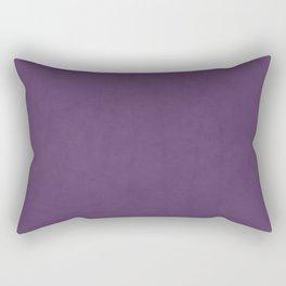 Elegant lilac lavender faux leather texture Rectangular Pillow