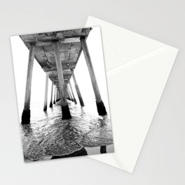 Hermosa Beach Pier Stationery Cards
