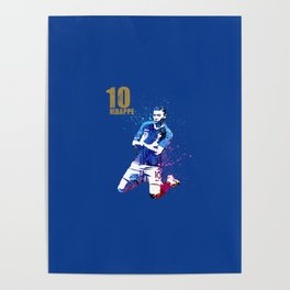 WORLD CUP 2018 #FRANCE #Mbappe Poster