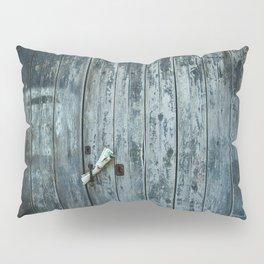 Blue door Pillow Sham