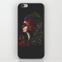 dia de los muertos iPhone & iPod Skins featuring Dia De Los Muertos by barmalisiRTB