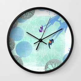 Skating Wall Clock