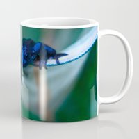 frog Mugs featuring Frog by Alice Teal
