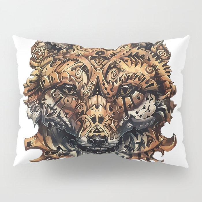 Steampunk - Fox Pillow Sham