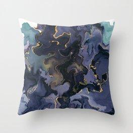 Calm storm Throw Pillow