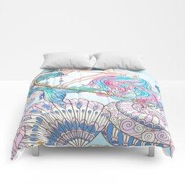 Mermaid Art Comforters