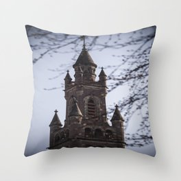 Fairy Tale Tower Throw Pillow
