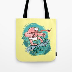 Curious Case of Indestructible Fly  Tote Bag