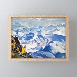 Nicholas Roerich - Drops Of Life - Digital Remastered Edition Framed Mini Art Print