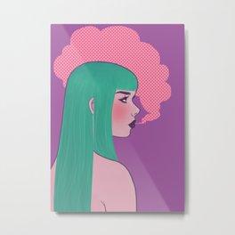 PUFF Metal Print