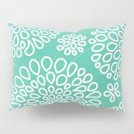 Peppermint Dandelions Pillow Sham