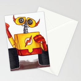 Wall-E West Stationery Cards