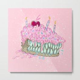 cavity cake Metal Print