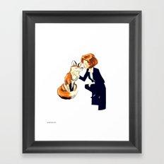 Trust of the Fox Framed Art Print