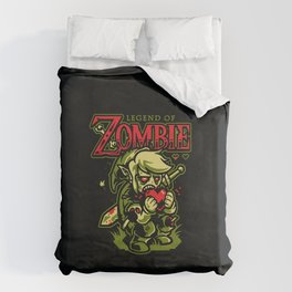 Legend of Zombie Duvet Cover