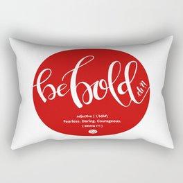 Be BOLD, eh?! - Canada 150 Collection Rectangular Pillow