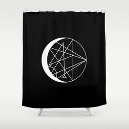 ECLIPTICA Shower Curtain