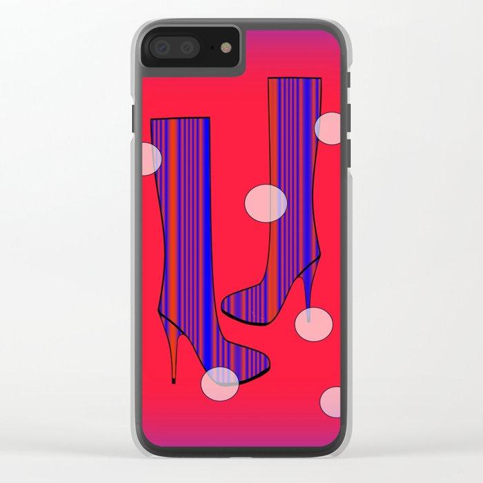Art Meets Fashion Clear iPhone Case