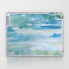 Miami Beach Watercolor #1 Laptop & iPad Skin