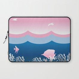 Dotty Sea and Sky Laptop Sleeve
