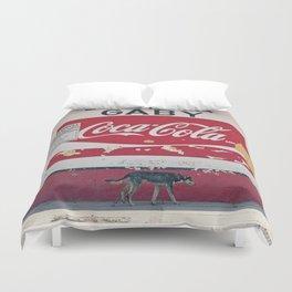 Coca Cola Mexico Stray Dog Duvet Cover