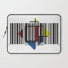 Barcode 004d Laptop Sleeve