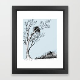 Porcupine's Helper Framed Art Print