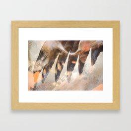 """""""wing"""" Framed Art Print"""