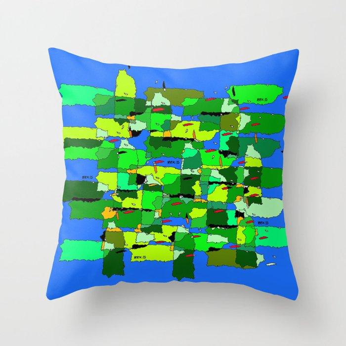 100 x 35 Verde Throw Pillow