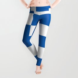 Flag of greece Leggings
