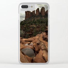 Seven Sacred Pools Clear iPhone Case
