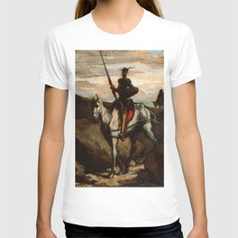"Honoré Daumier ""Don Quixote in the Mountains"" T-shirt"