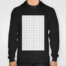 Grid (Silver/White) Hoody
