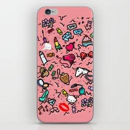 Girl Stuff iPhone Skin