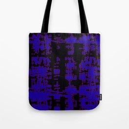 jitter, black blue, 3 Tote Bag