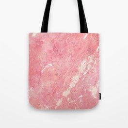 Vintage blush pink white rustic marble Tote Bag