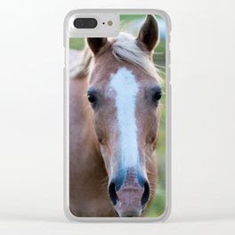 Silver I Clear iPhone Case