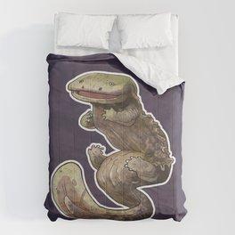 Eastern Hellbender Colored Comforters